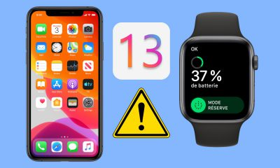 Souci batterie Apple Watch