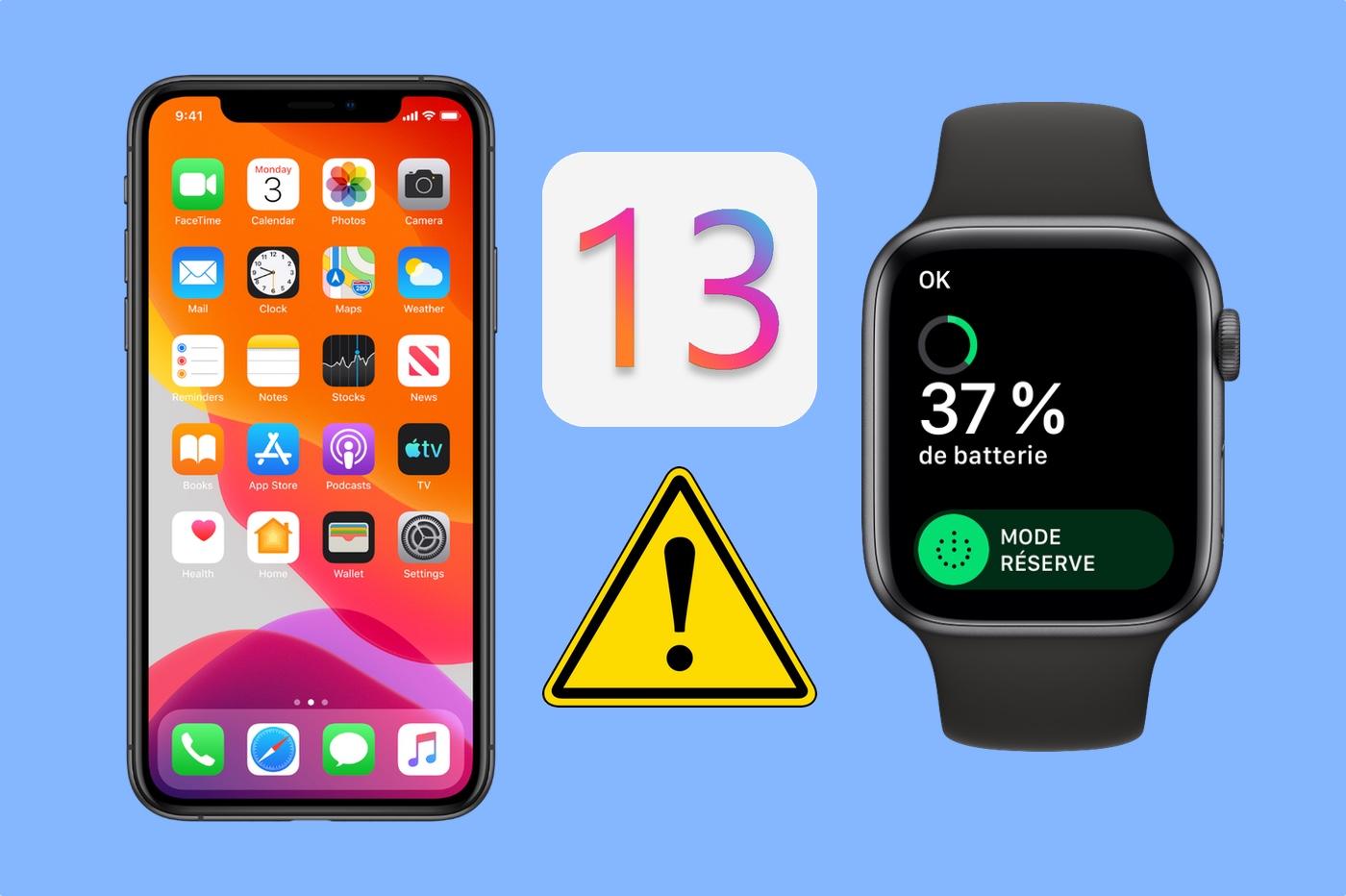 Souci batterie Apple Watch