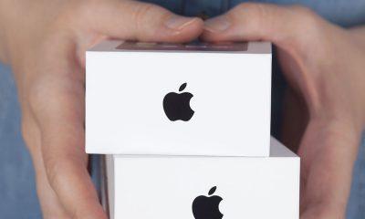 Des boites d'iPhone