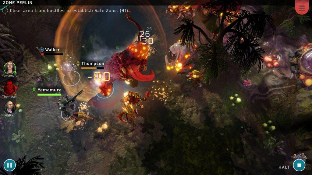 Xenowerk Tactics capture écran jeu iPhone