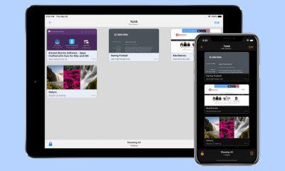 app Yoink sur iPhone/iPad