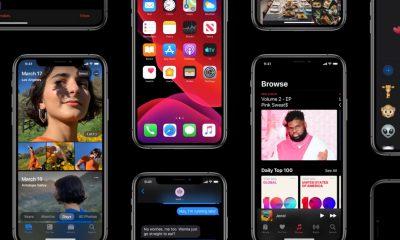 Nouveautés iOS 13, site Apple
