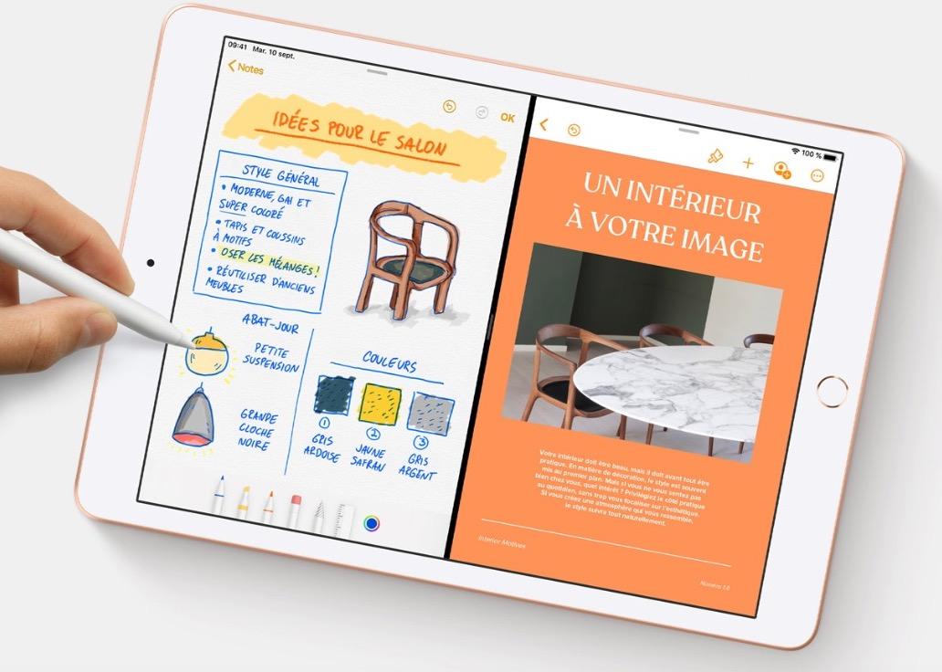 Apple iPad 10,2 pouces et Pencil