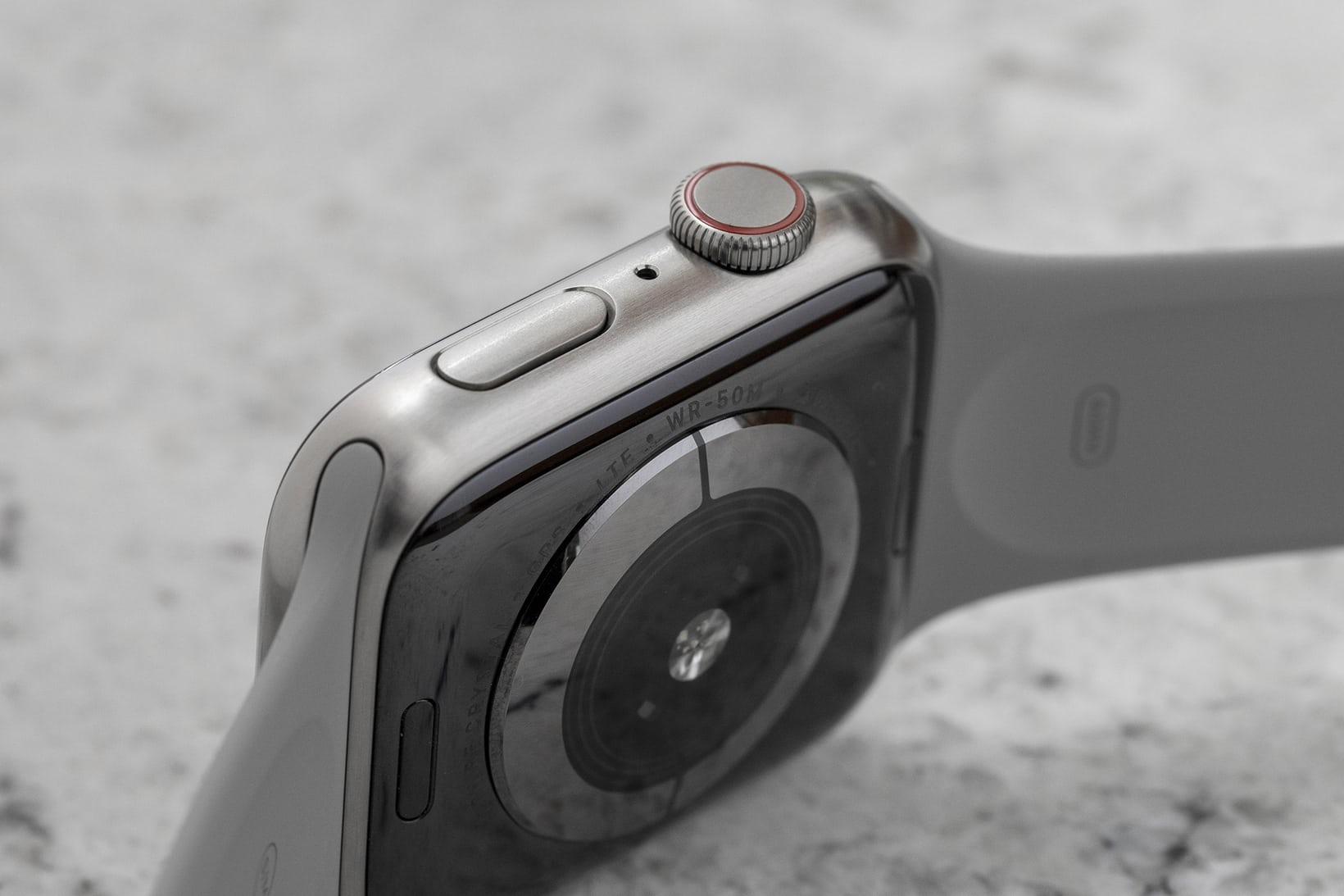Apple Watch 5 en titane