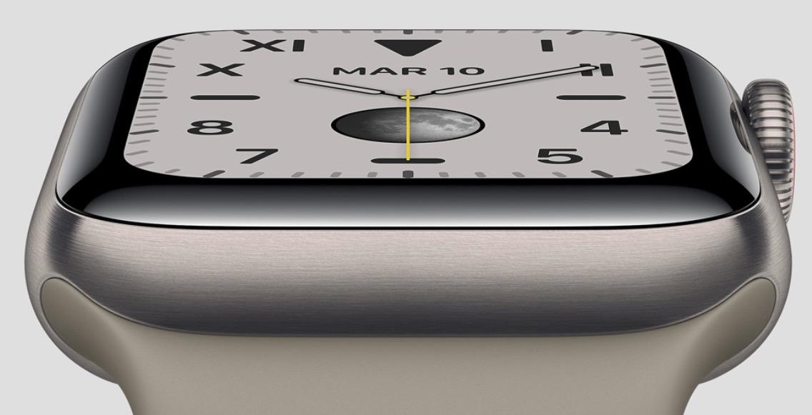 Apple Watch Series 5 céramique