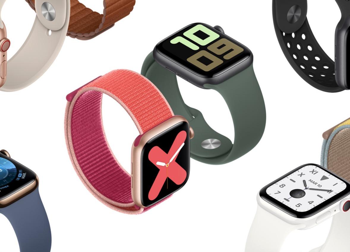 Apple Watch Series 5 présentation