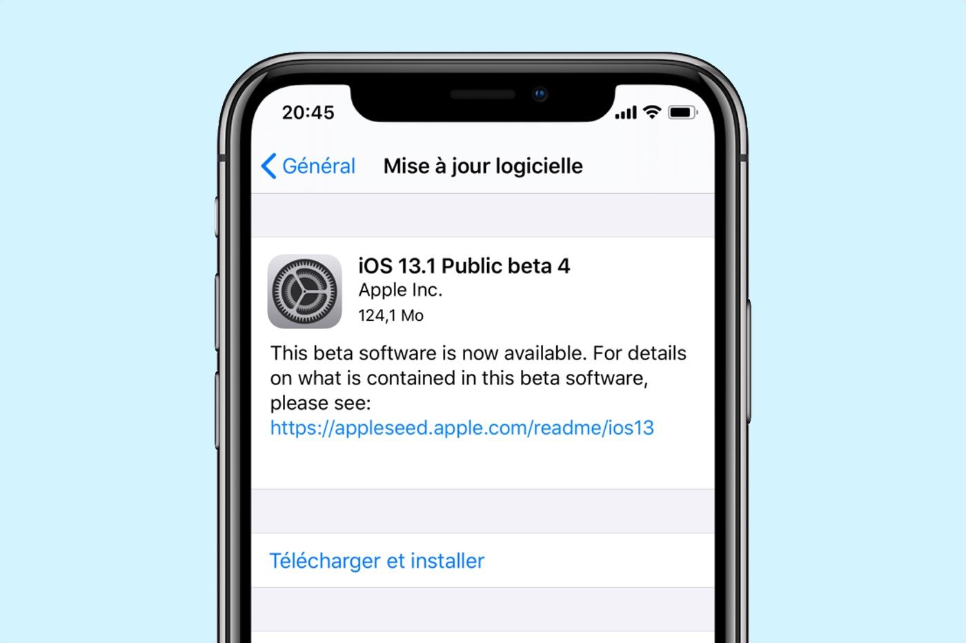 beta 4 iOS 13.1