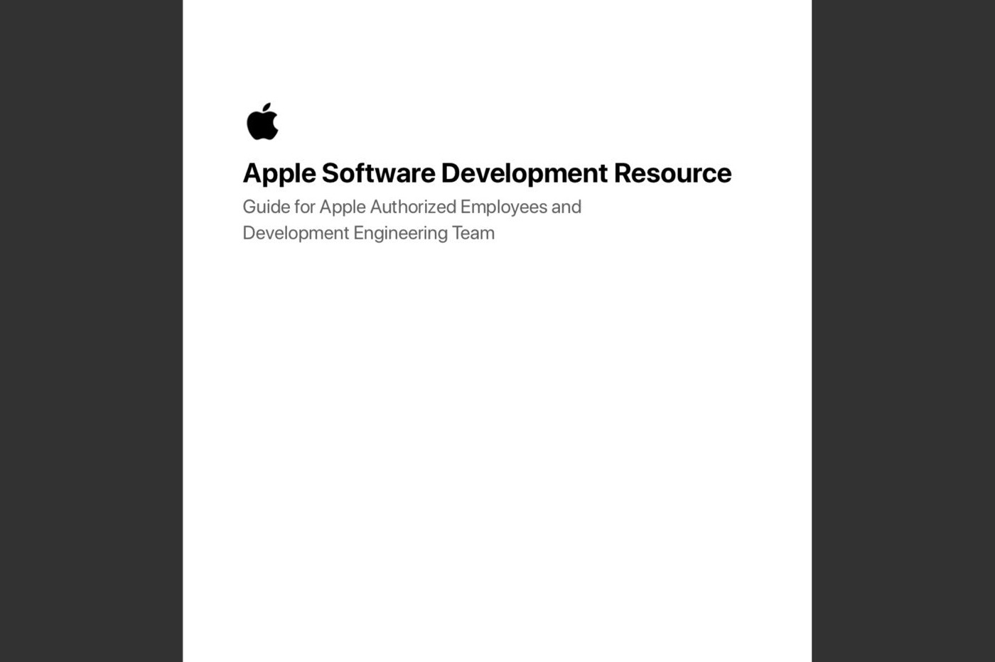 Document interne Apple concernant iPhone 11, iOS 13, iPad, Apple Watch Series 5