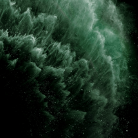 iPhone 11 Pro fond d'écran - Midnight Green