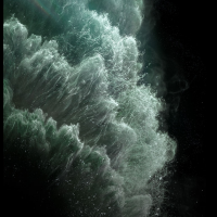 iPhone 11 Pro fond d'écran - Midnight Green2