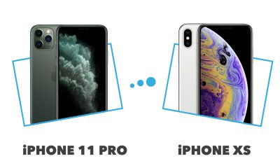 comparatif iPhone XS versus iPhone 11 Pro