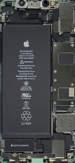 iPhone 11 fonds d'écran composants iFixit
