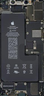 iPhone 11 Pro Max fonds d'écran composants iFixit
