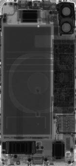 iPhone 11 fonds d'écran rayons X iFixit