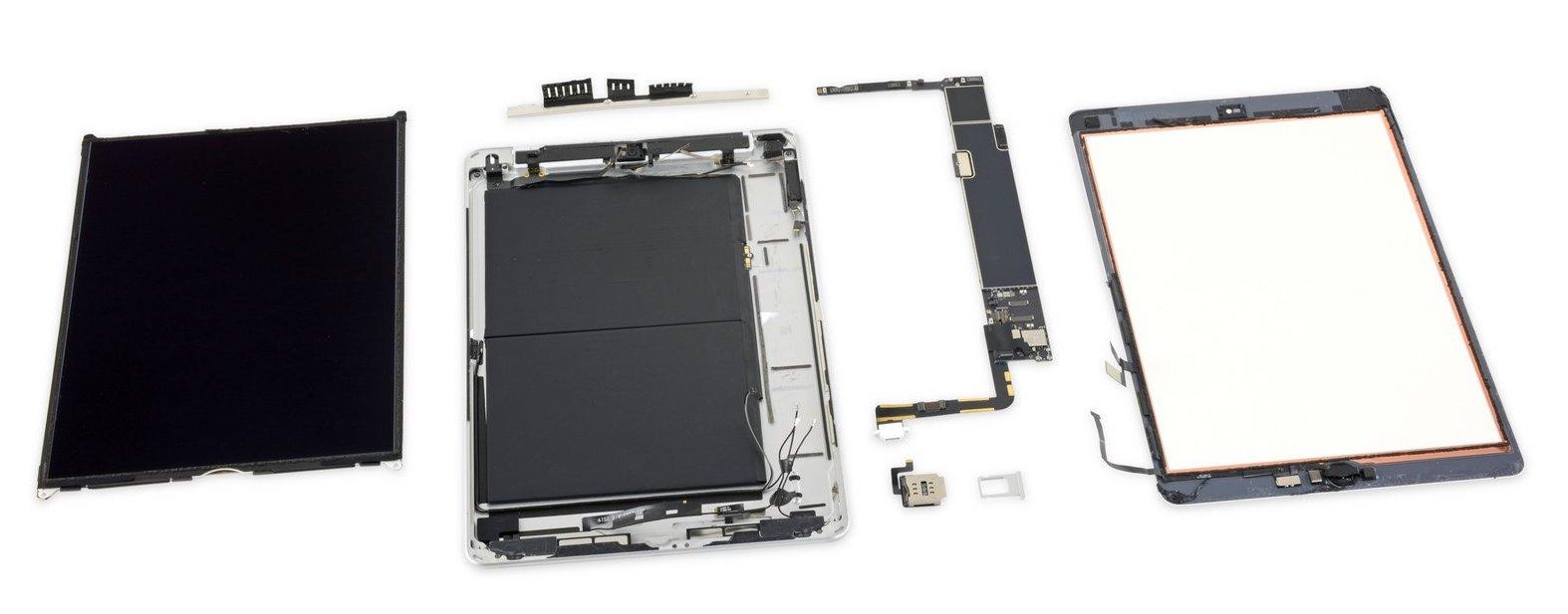 Vue éclatée iPad 10,2 pouces iFixit