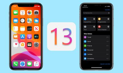 iOS 13 sur iPhone