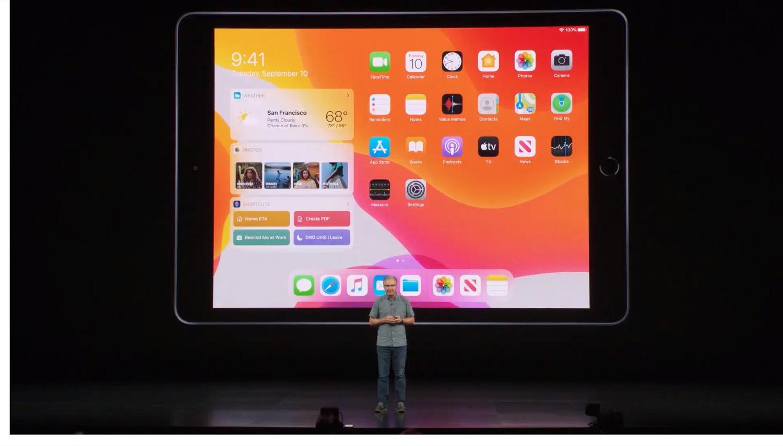 Nouvel iPad 7 Keynote