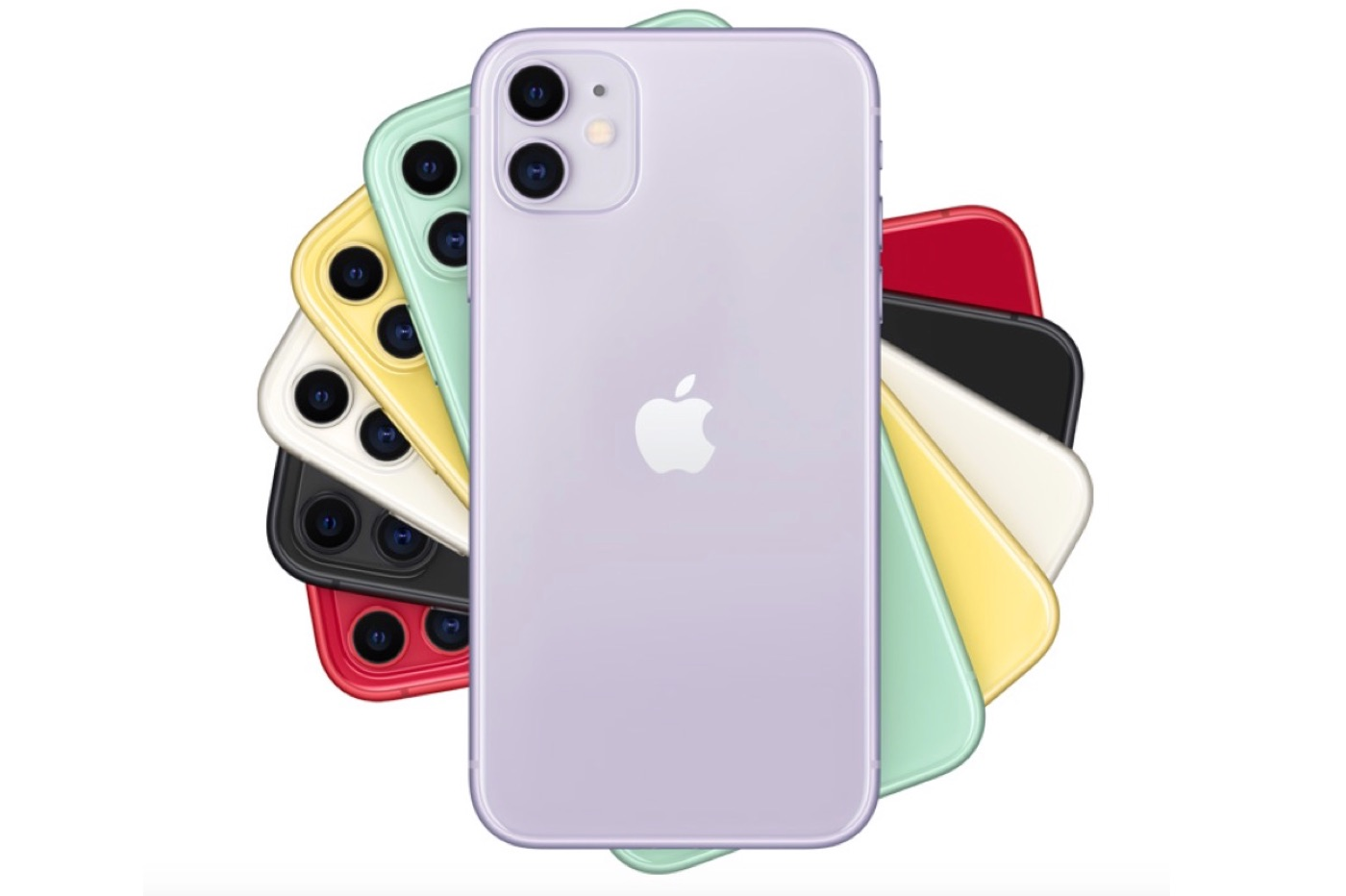 iPhone 11 couleurs