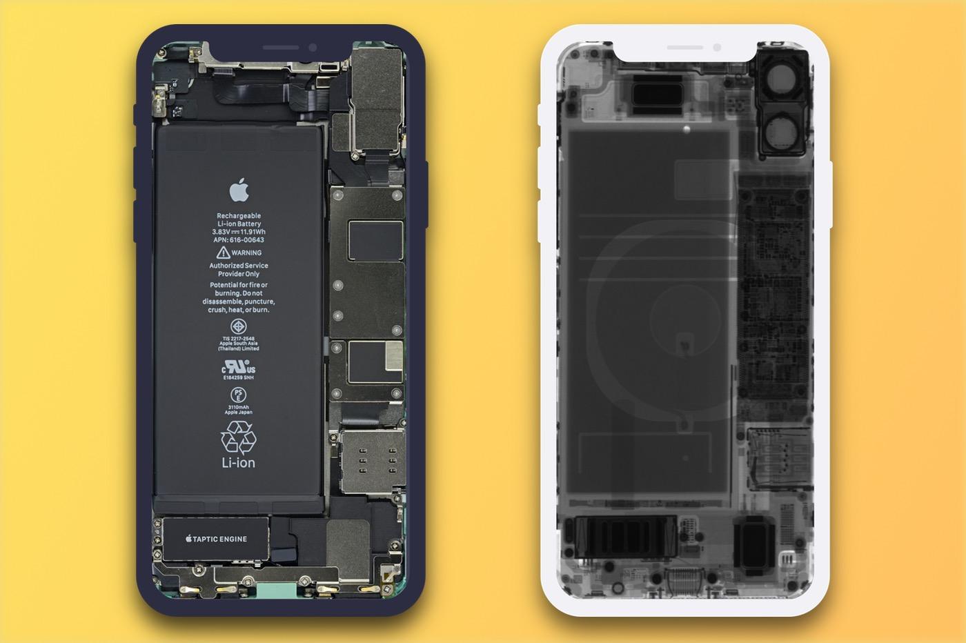 Mettez Votre Iphone 11 Ou Watch Series 5 A Nu Avec Les Fonds