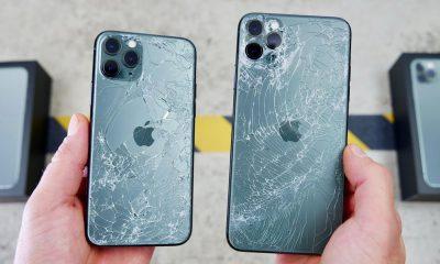 iPhone 11 Pro et 11 Pro Max cassés