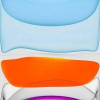 iPhone 11 fond d'écran - Clair - pour iPhone 6-7-8