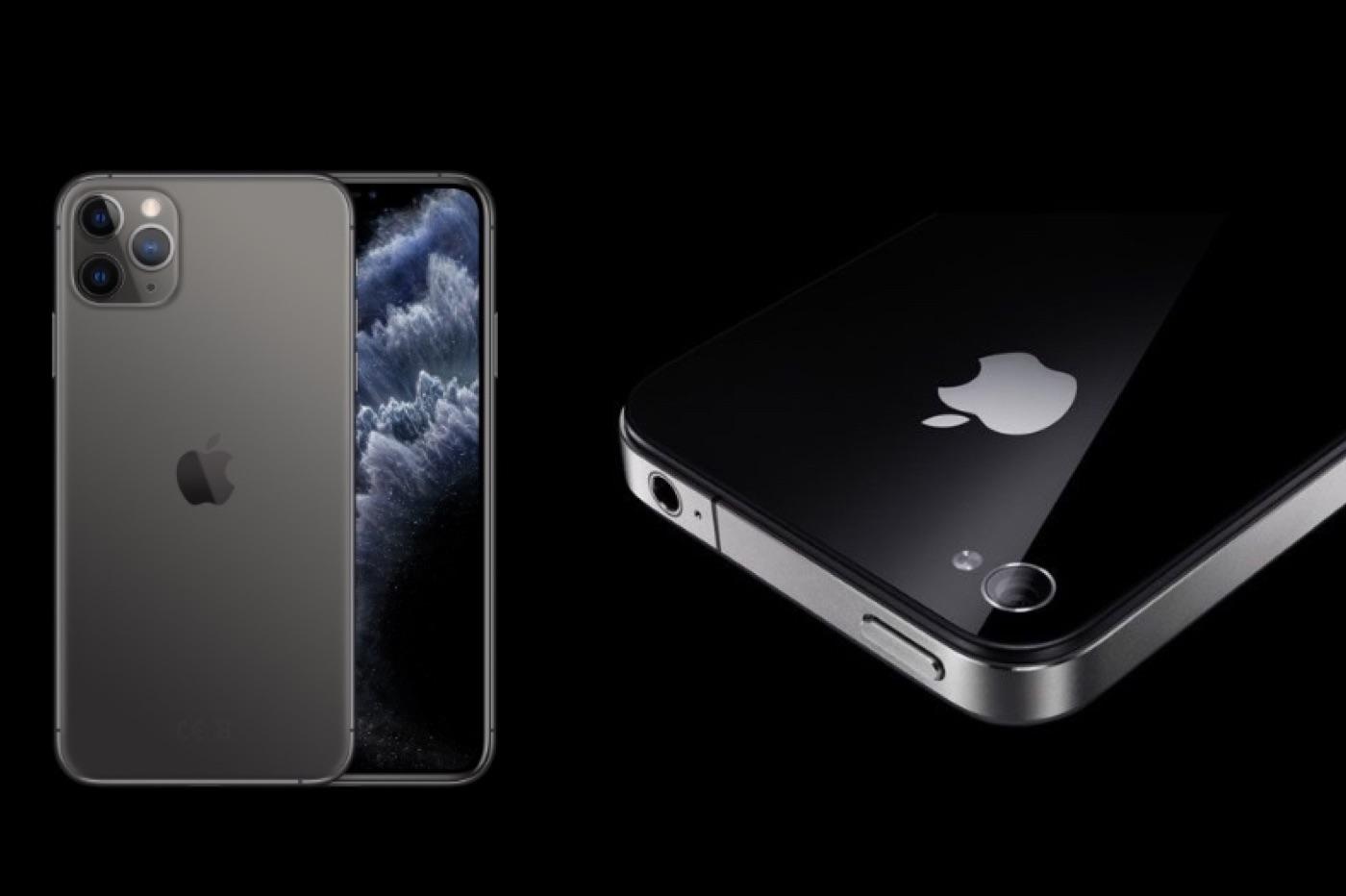 Un design d'iPhone 4 pour les prochains modèles de 2020 ?