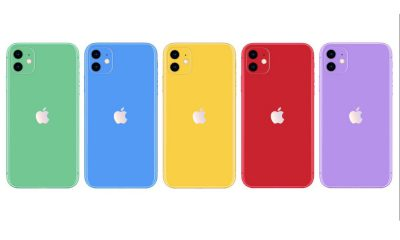 Rendus iPhone XR 2019