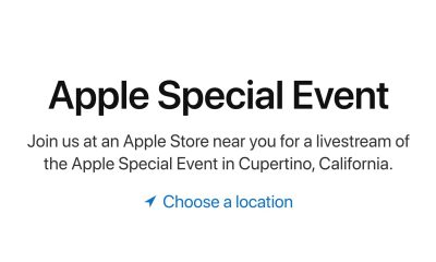 Keynote Apple Store streaming