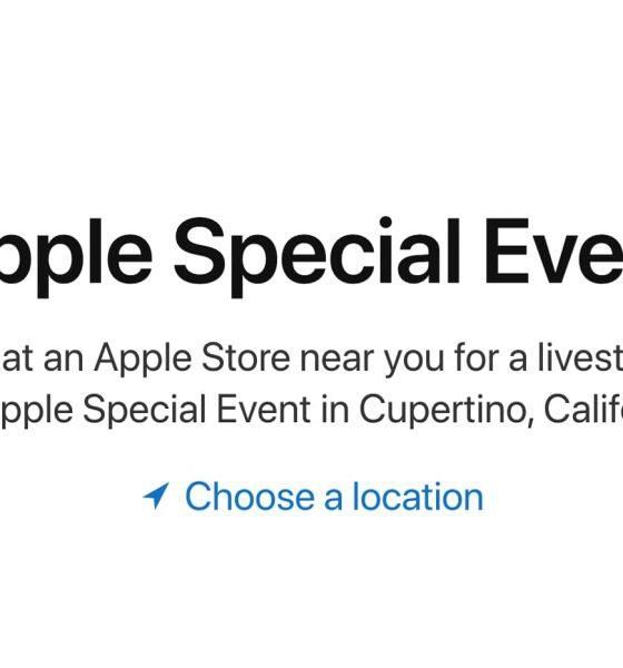 Keynote Apple Store streaming