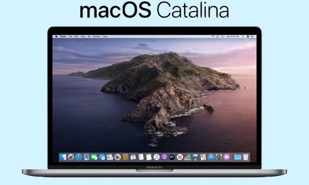 macOS Catalina
