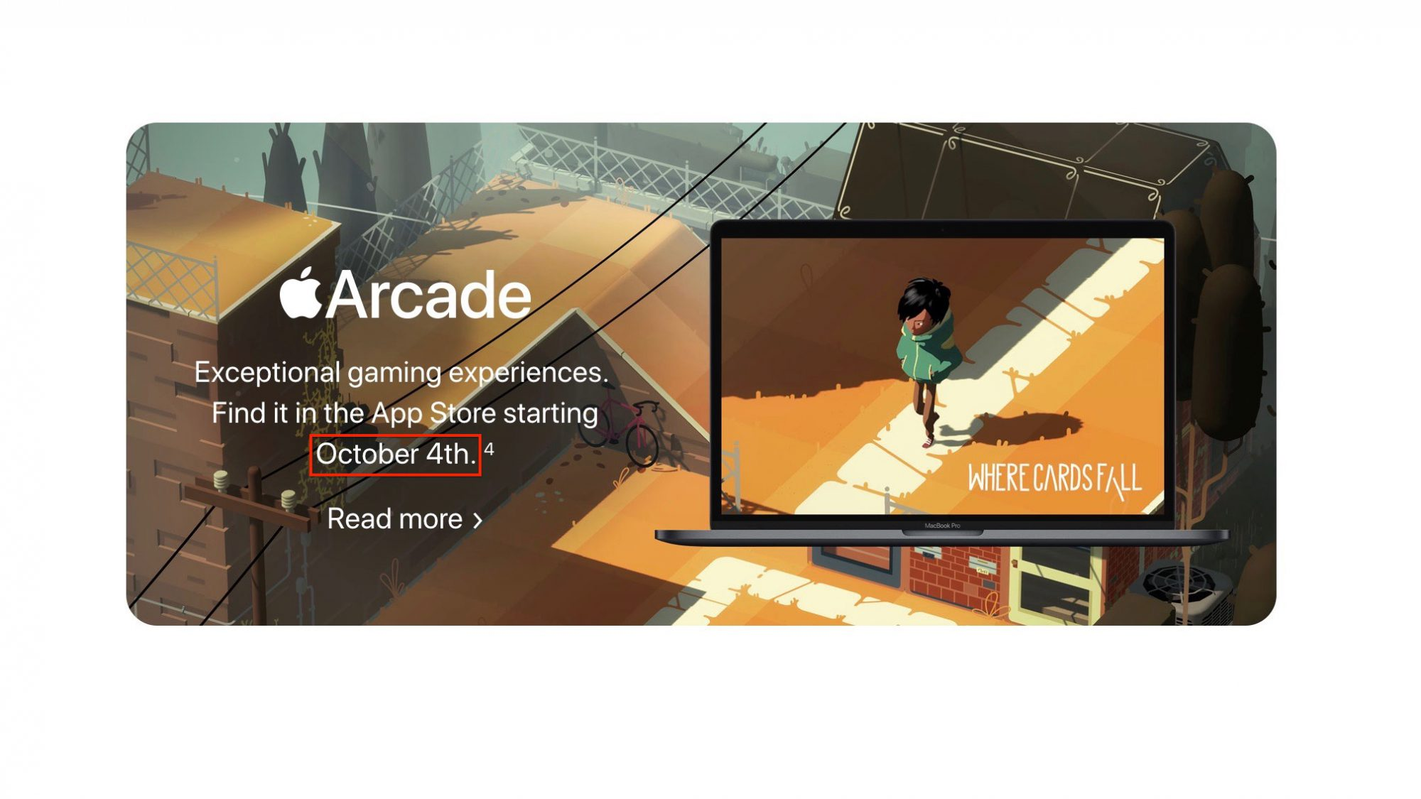 Apple Arcade pour macOS Catalina