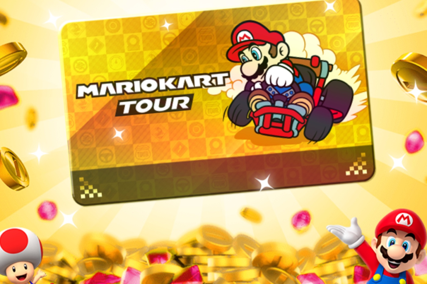 Pass Or du Mario Kart Tour