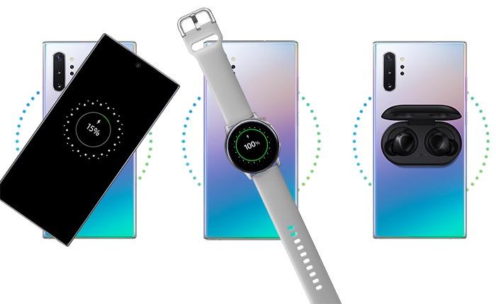 Recharge inversée sur Samsung Galaxy Note10