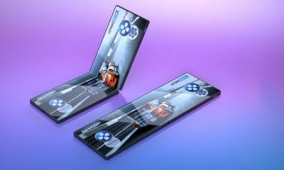 Samsung smartphone pliable
