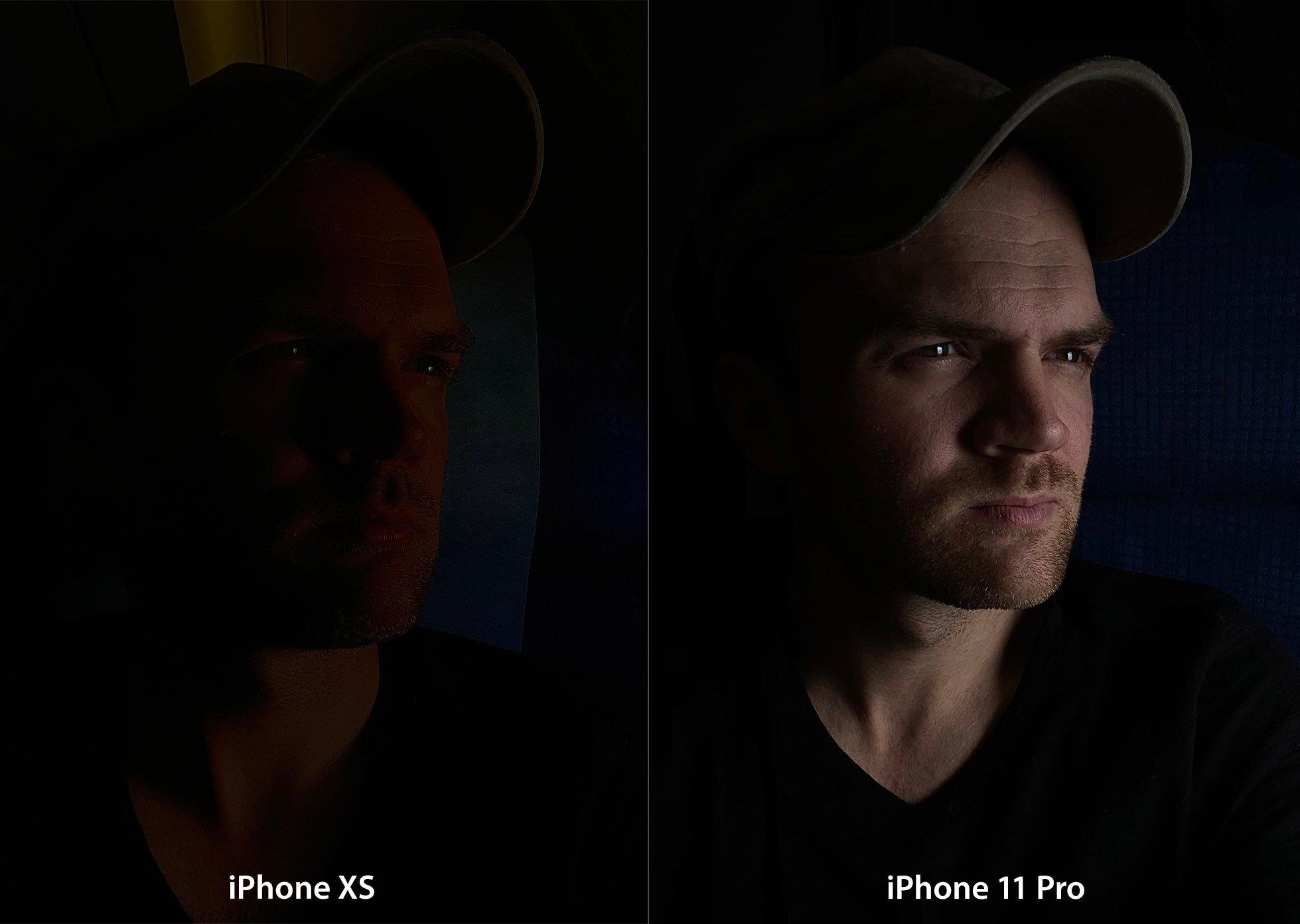 mode nuit de l'iPhone 11 Pro