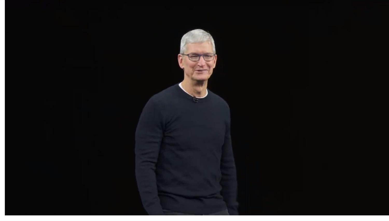 Tim Cook Keynote iPhone 2019