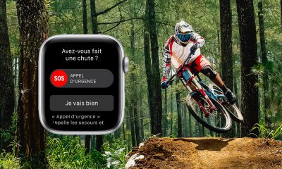 detection de chutes de l'Apple Watch