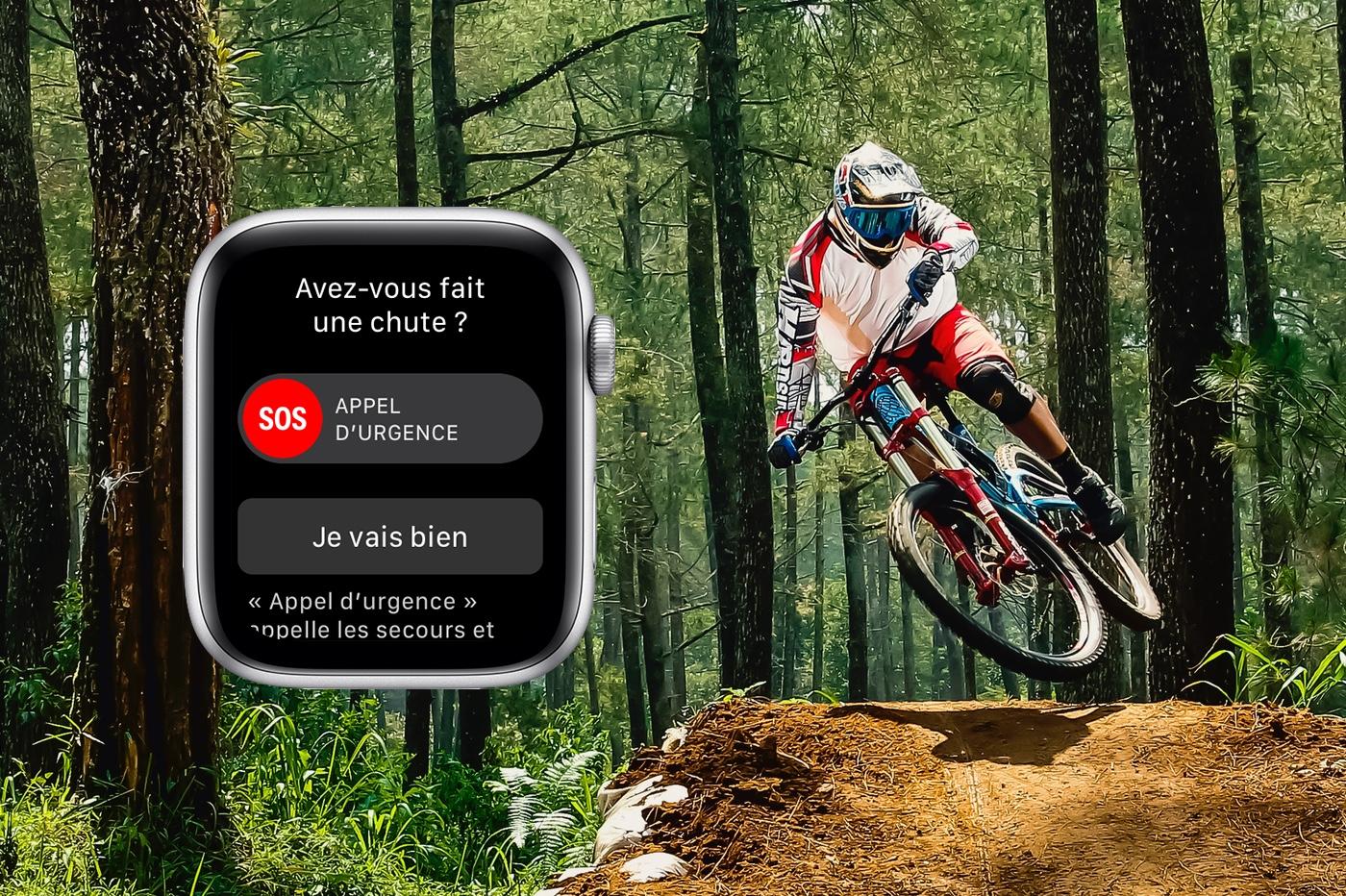 detection de chutes de l'Apple Watch