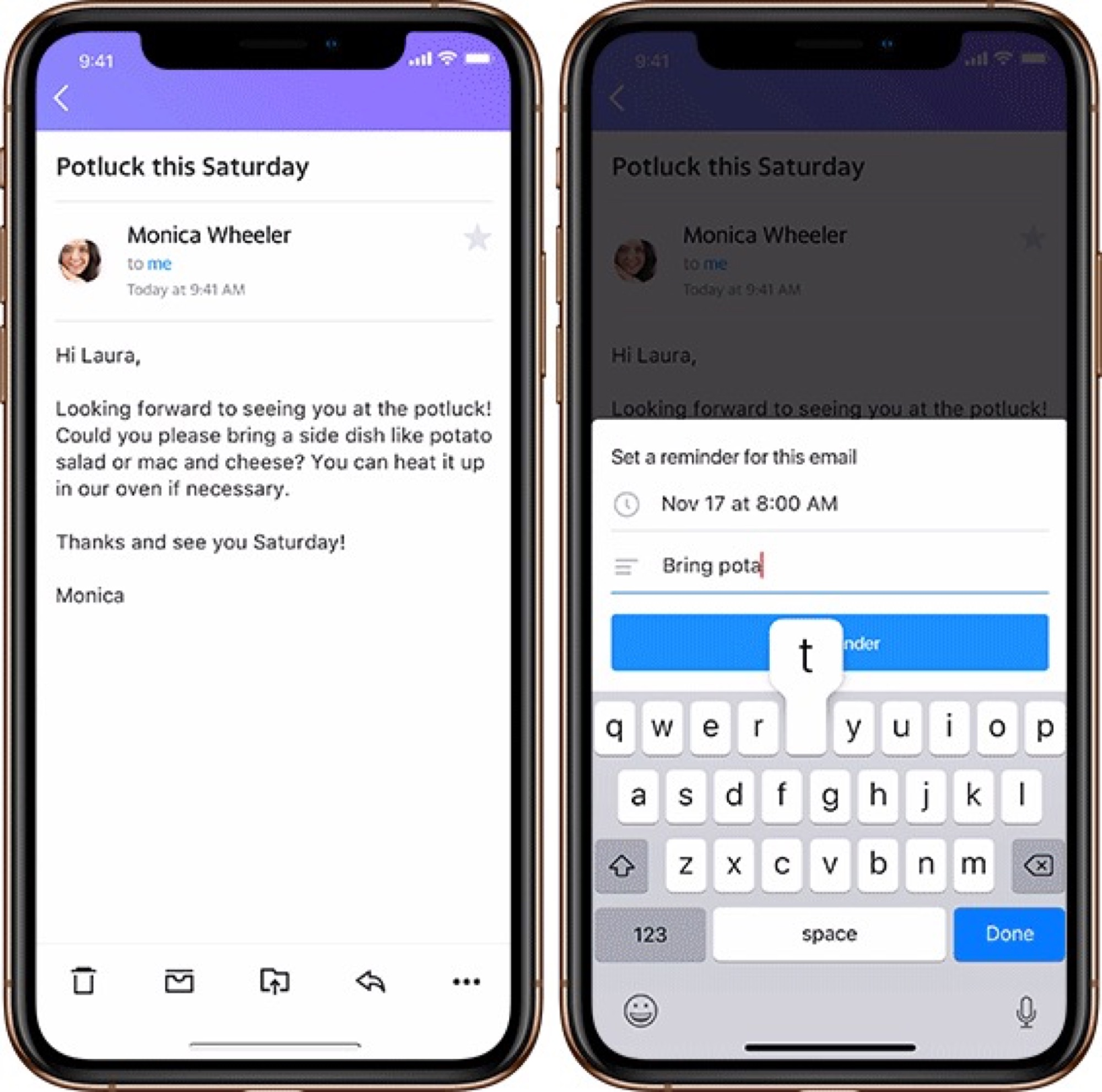 Nouvelle fonction Yahoo Mail desinscription rappels