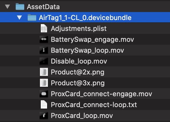 AirTag dans iOS 13.2