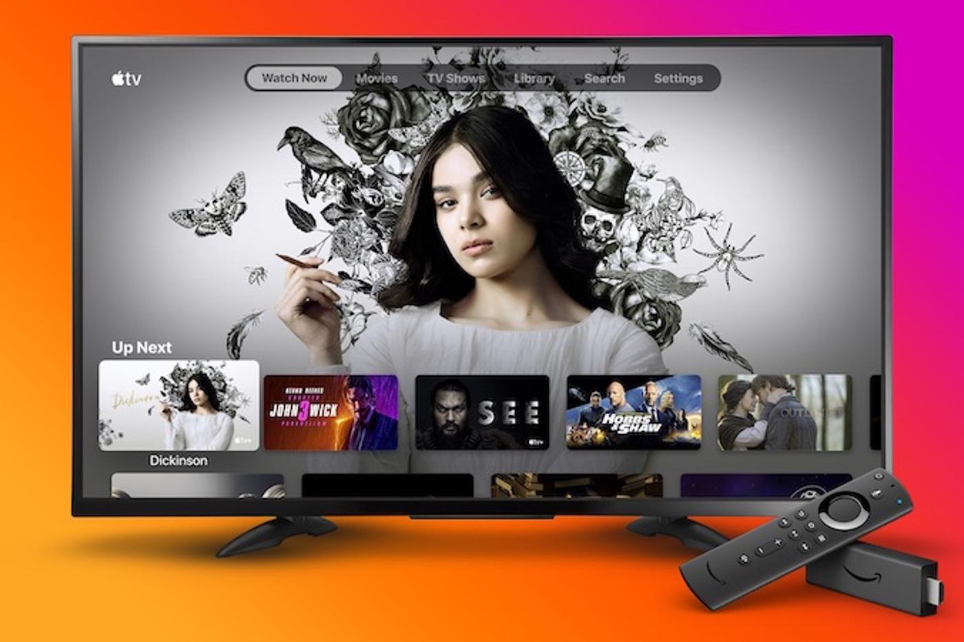 app Apple TV sur Fire TV stick