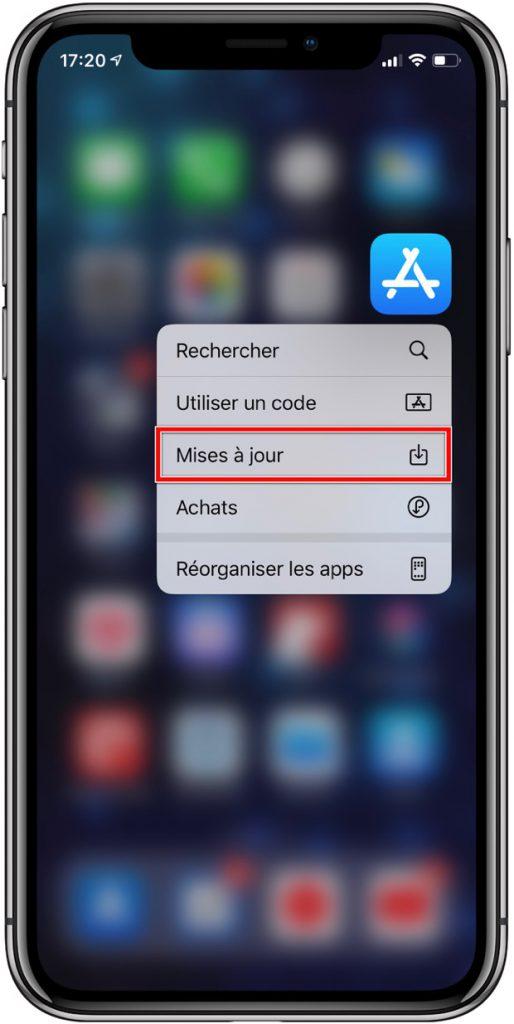 App Store raccourcis iOS 13