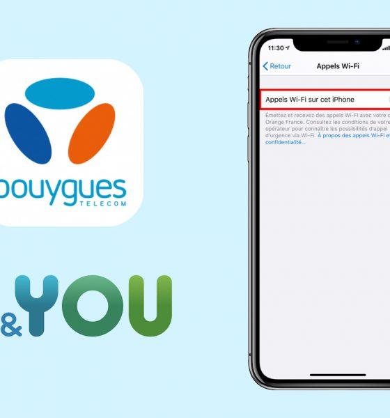 Appels WiFi chez Bouygues Telecom