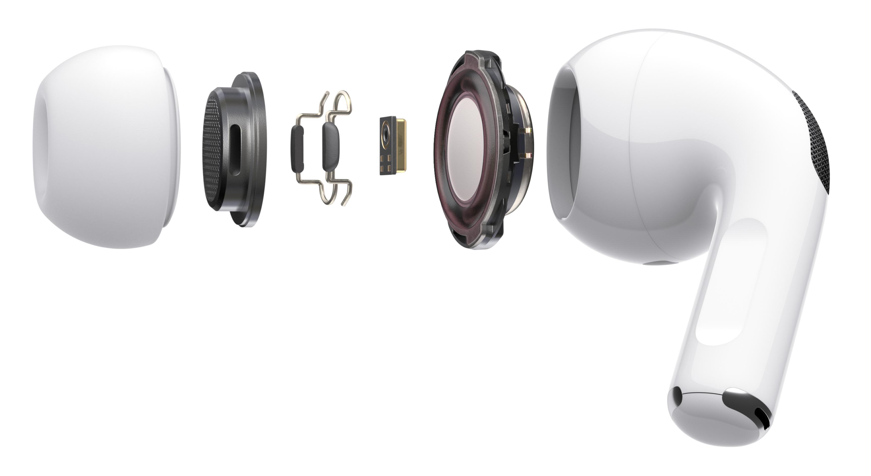 Composants des Apple AirPods Pro