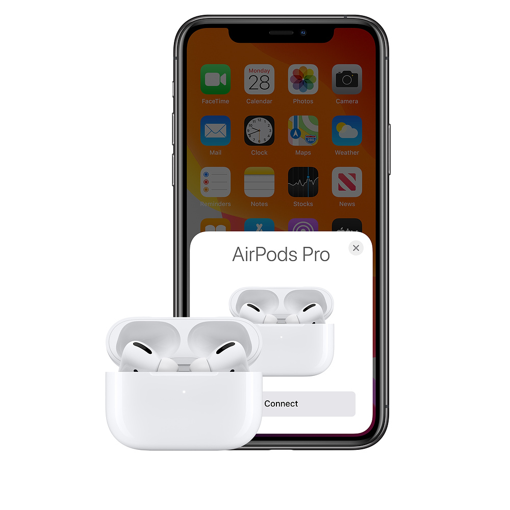Appairage AirPods Pro avec iPhone
