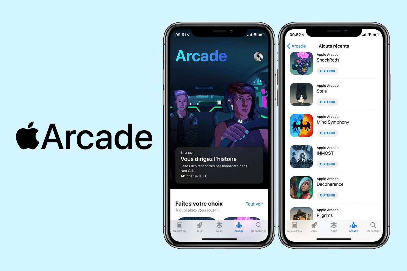 Apple Arcade nouveaux jeux octobre