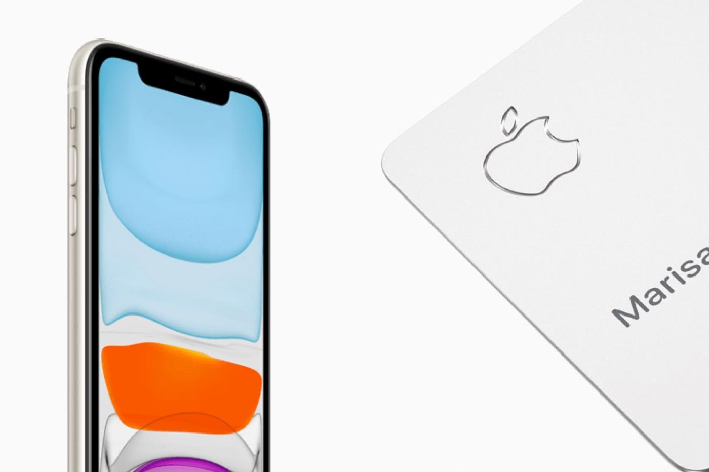 Apple Card paiement iPhone en plusieurs fois