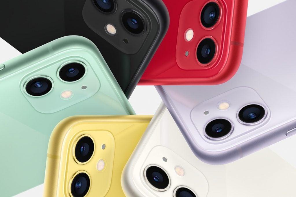 Coloris Apple iPhone 11