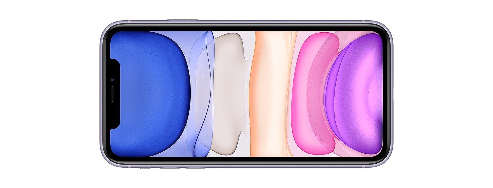 Face avant iPhone 11