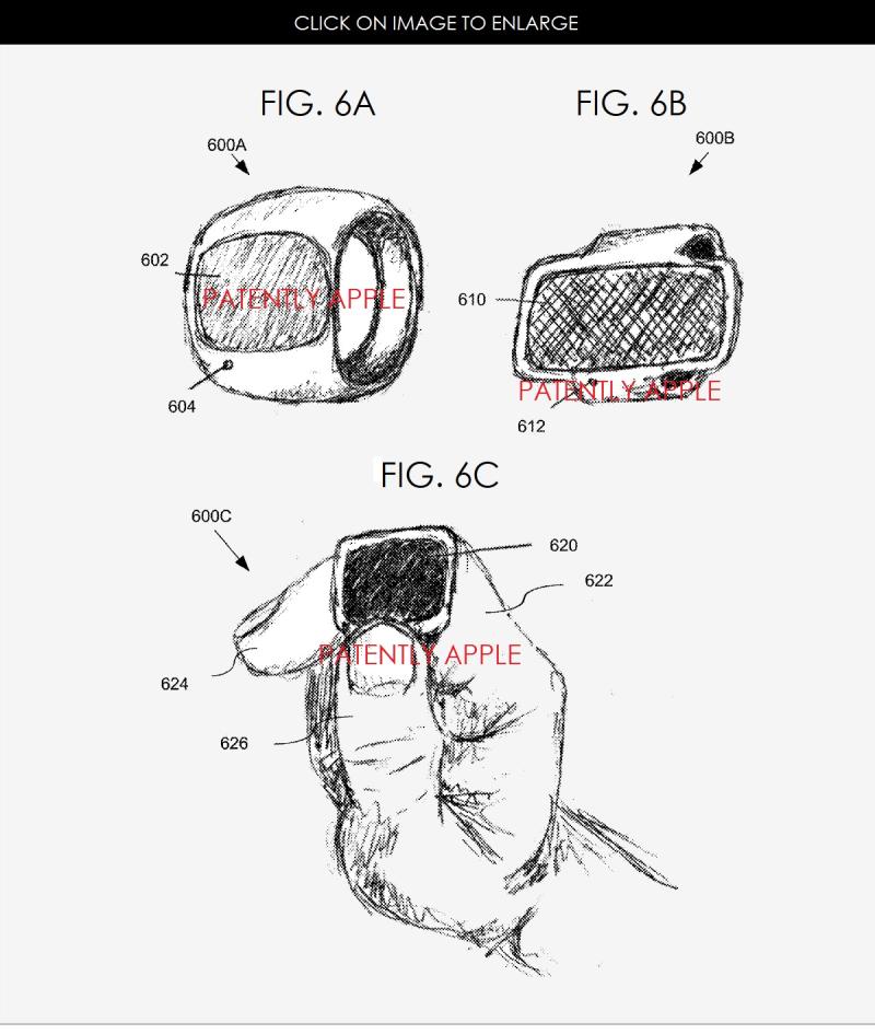 Apple Ring, image brevet